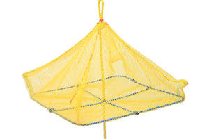 Yellow square net
