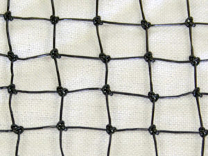 Knotted square net cloth enlarged
